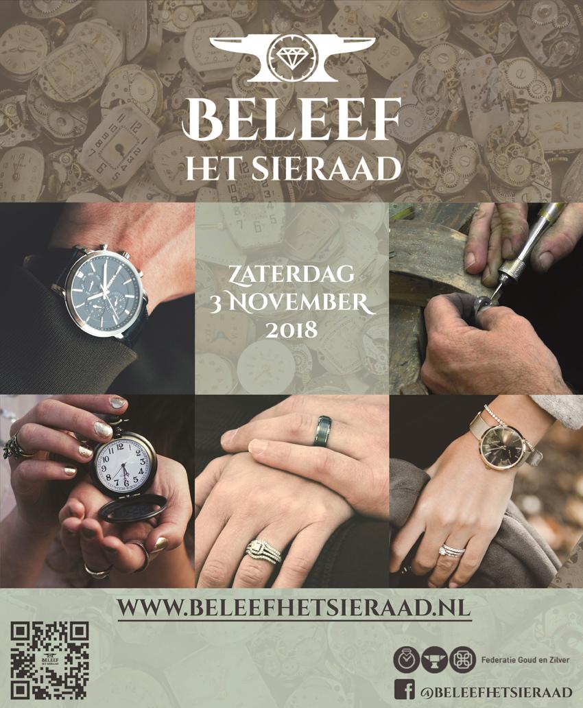Beleef het Sieraad bij Edelstijl Utrecht - welkom op ons open atelier op 3 november 2018