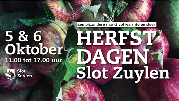 Herfstdagen slot Zuylen Utrecht 5 en 6 oktober 2019 met o.a. Edelstijl juwelen en sieraden